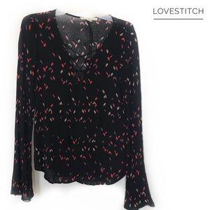 Black Lovestitch Blouse!
